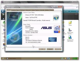 Windows XP PoInT v9.0 + HDD SATA 20tl7210