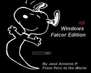 Windows XP Falcor,de 141 MB que corre en maquinas con 52 megas de ram.. 33pn1h10