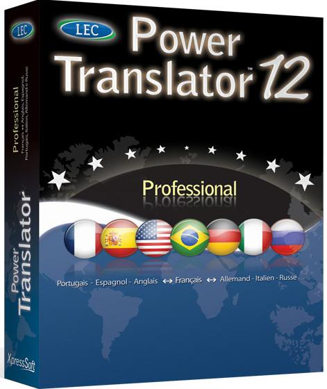 Power Translator Pro 12 Edition - Spanish Box-ca11