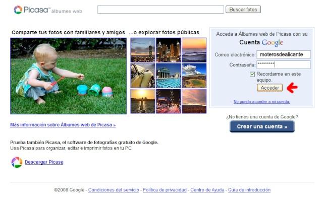 Album Web Picasa 310