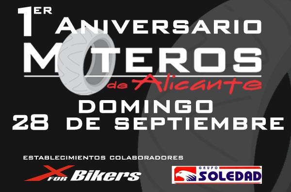 1er Aniversario Moteros de Alicante - Domingo 28 de Septiembre Doming10