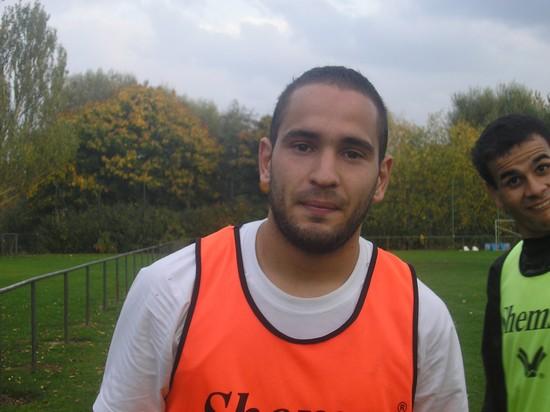 Un nouveau joueur à l'entrainement du 14/10/2008: T. Zerara Nouvea12