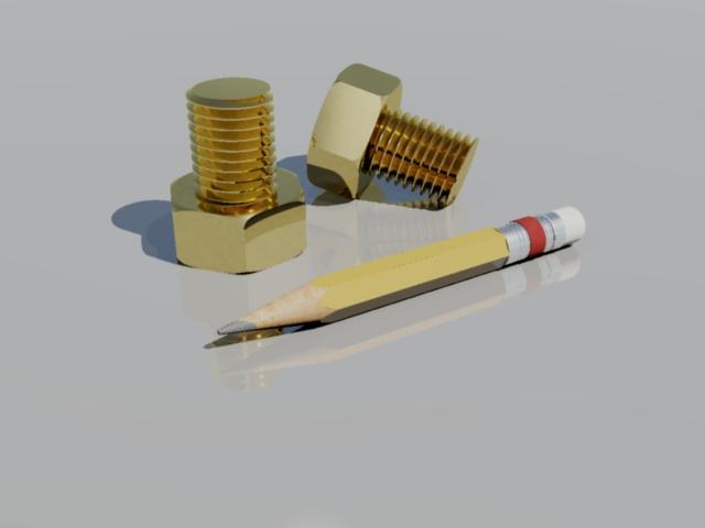 [作品]鉛筆與螺絲(請觀賞) Screw_10