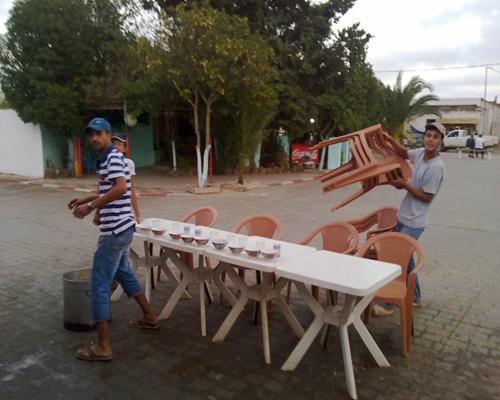 """جمعية المنار بحد الغربية تسهر على تنفيذ برنامج """"إفطار عابر سبيل"""" الذي تنظمه كل سنة في شهر رمضان 14082011"""