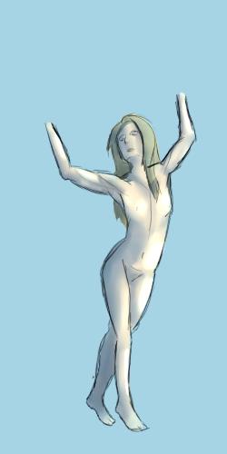 Études d'Anneli Figure10