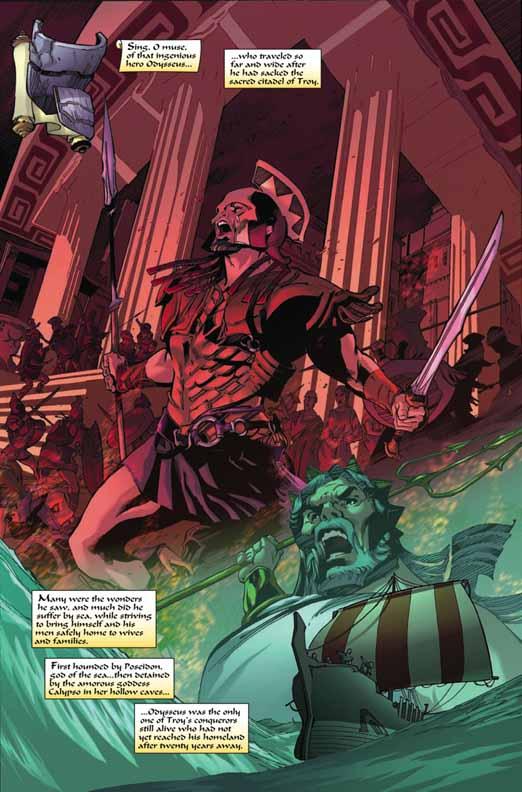 Primer vistazo: Marvel Illustrated: The Odyssey #1 Odysse11