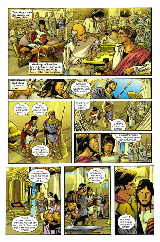 Primer vistazo: Marvel Illustrated: The Odyssey #1 Odysse12