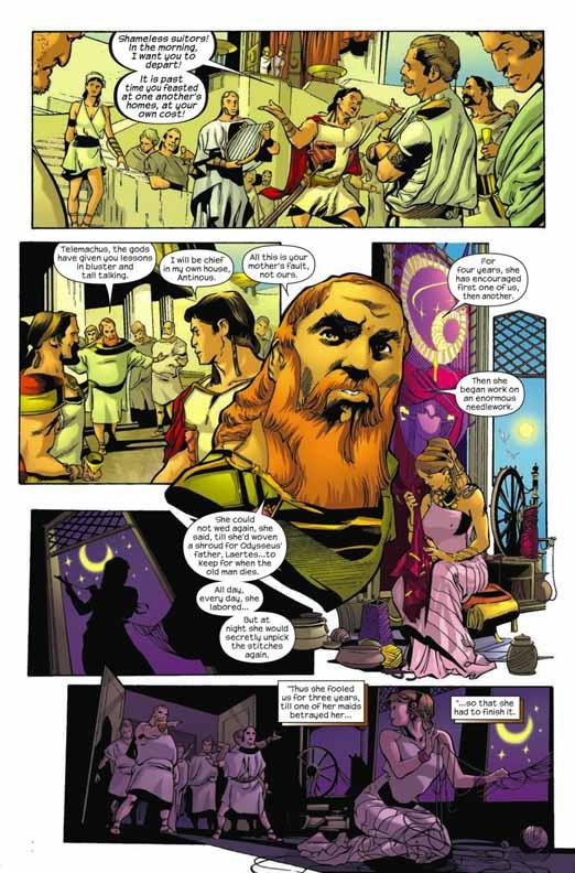Primer vistazo: Marvel Illustrated: The Odyssey #1 Odysse13