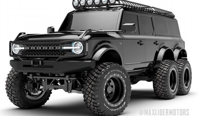 Nouvelle version du TRX4 : Bronco 2021. Ford-b10