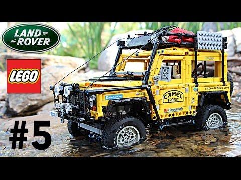 Cherokee/Def 90 trial sur Base Reely Free Men raccourci (clone SCX10 II)  Lego_l10