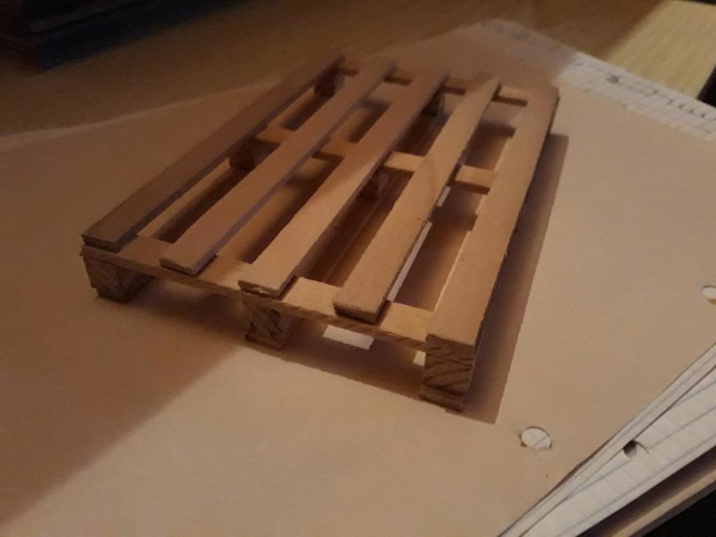 Accessoires Hand Made pour Scale et Crawler Palett12