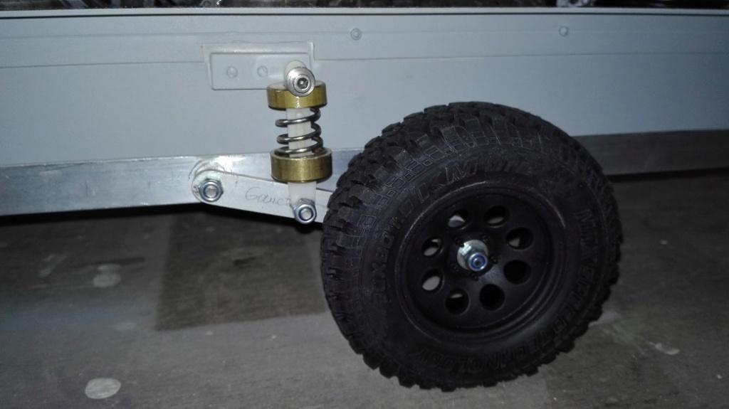 Fabrication remorque plateau à suspension ou balancier Rem_210