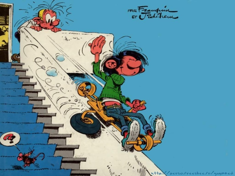 Gaston Lagaffe - Série [Franquin] Gaston16