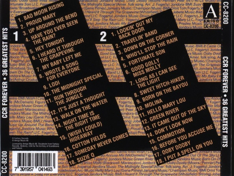 Creedence - Forever 36 Greatest Creede10