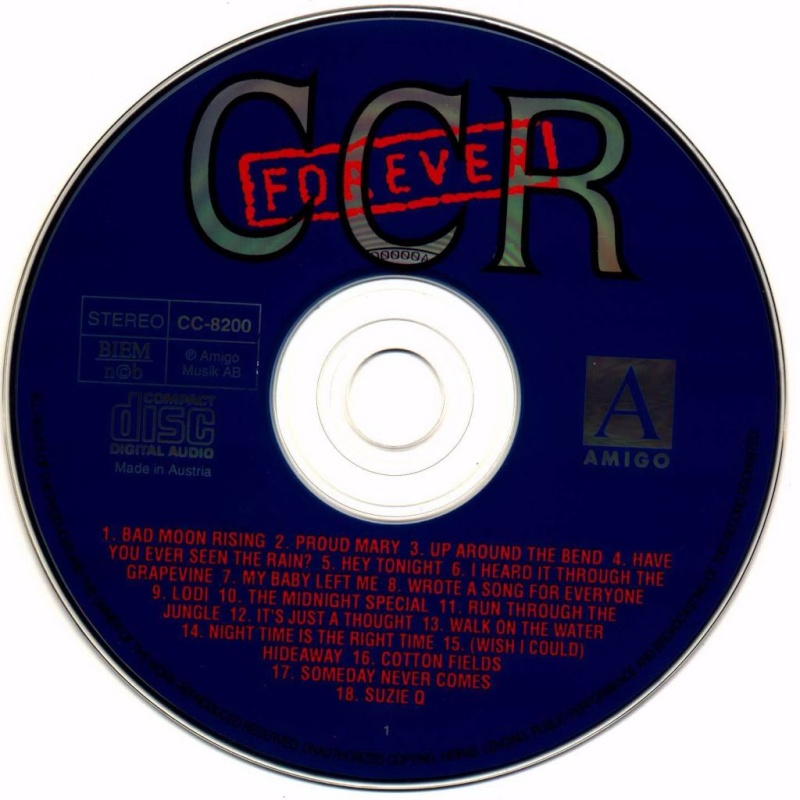 Creedence - Forever 36 Greatest Creede11
