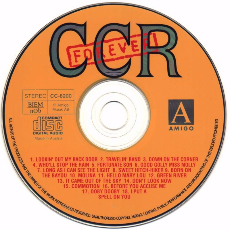 Creedence - Forever 36 Greatest Creede12
