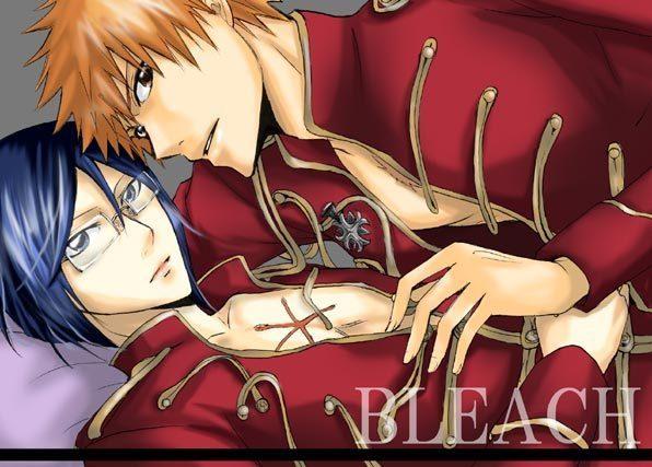 Bleach Yaoi Uryuxi11