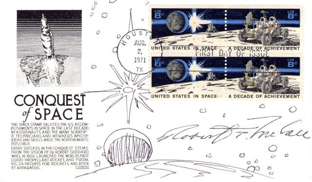 1961 - 2011 / La poste américaine émettra un timbre commémorant le Programme Mercury et Alan Shepard 1971_010
