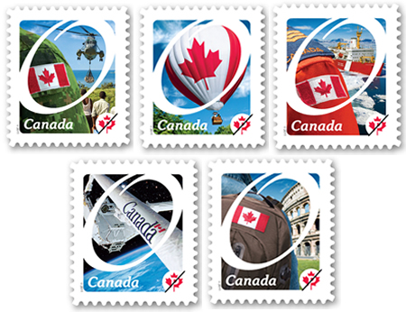 Canada : Un timbre Canadarm depuis le 17 janvier 2011 2011_o10