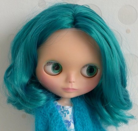 Nerea , Blythe factory emerald custom N310