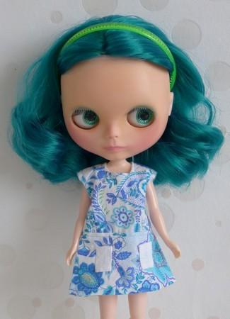 Nerea , Blythe factory emerald custom N3bis10