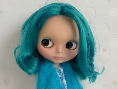 Nerea , Blythe factory emerald custom N410
