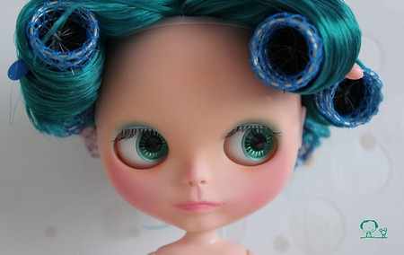 Nerea , Blythe factory emerald custom N510