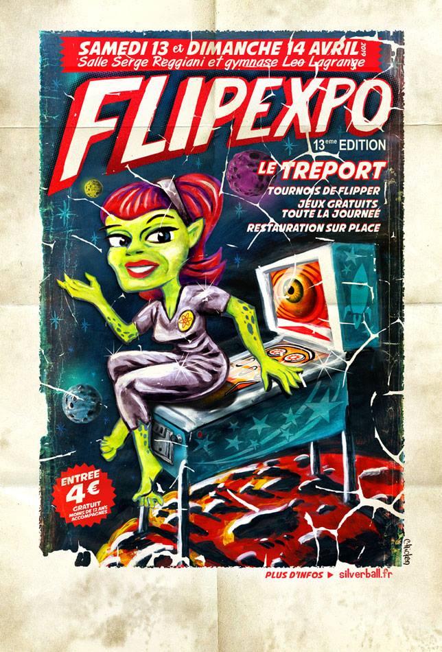 Salons à venir - 16, 17 2018 - 2019  Flipex10
