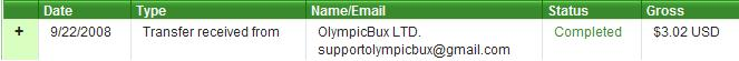 Thanx my lovely admin i receive my 2nd payment Olymp210