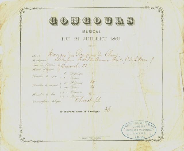Concours d'harmonies à Mâcon (1861) Concou12