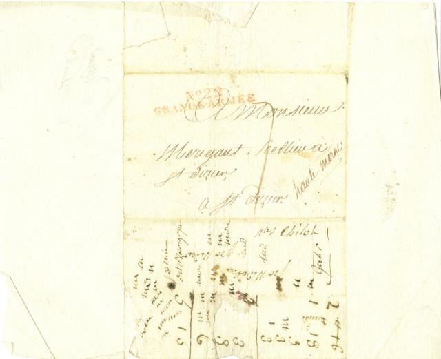 Guerre napoléonienne ... Lettre12