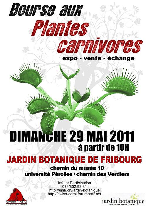 29/05/11 - Bourse aux Plantes Carnivores (et Tropicales) - Jardin botanique de Fribourg Okpost10