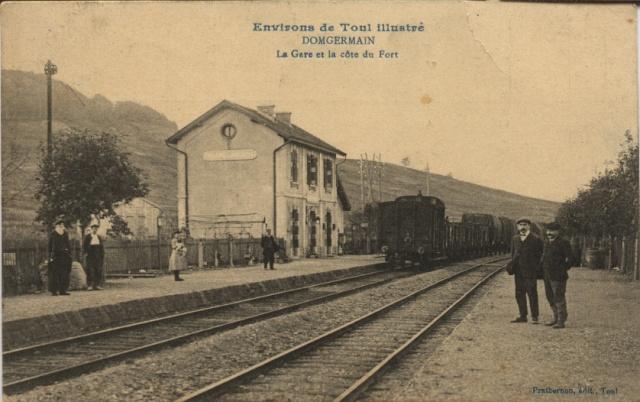 DOMGERMAIN - La Gare et la côte du Fort Domger10