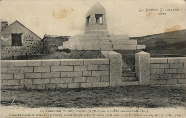 Le Tombeau de Duguesclin Lozere10