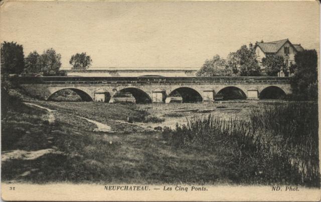 NEUFCHATEAU - Les Cinq Ponts Neufch10