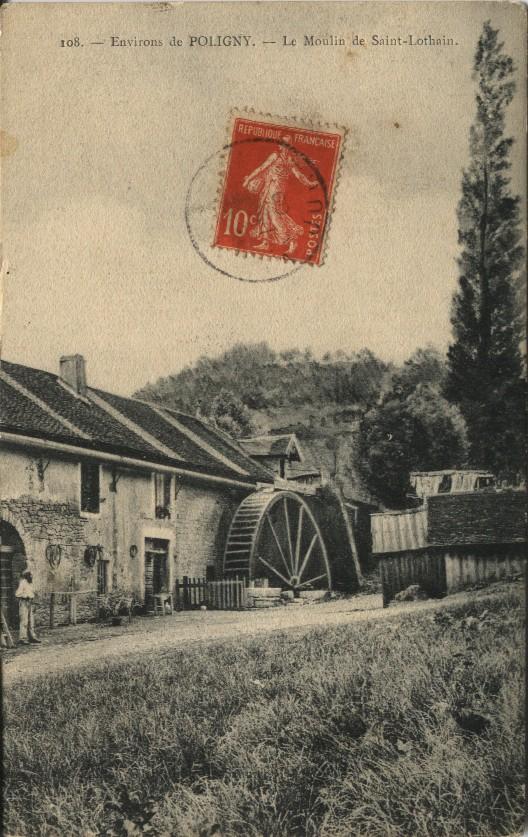 POLIGNY - Le Moulin de Saint-Lothain Polign10