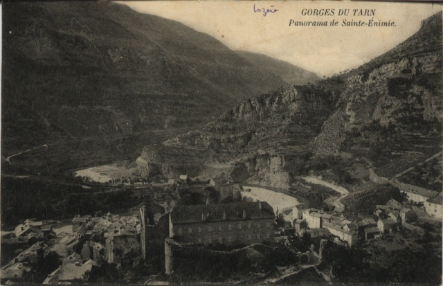 GORGES DU TARN - Panorama de Sainte-Eminie Ste_en11