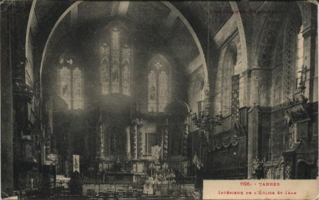 TARBES - Intérieur de l'Eglise St Jean Tarbes10
