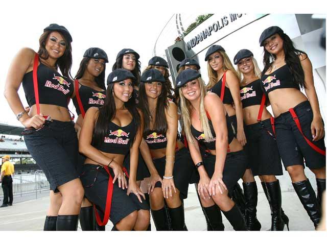 Las chicas del Gran Premio de Indianapolis 110