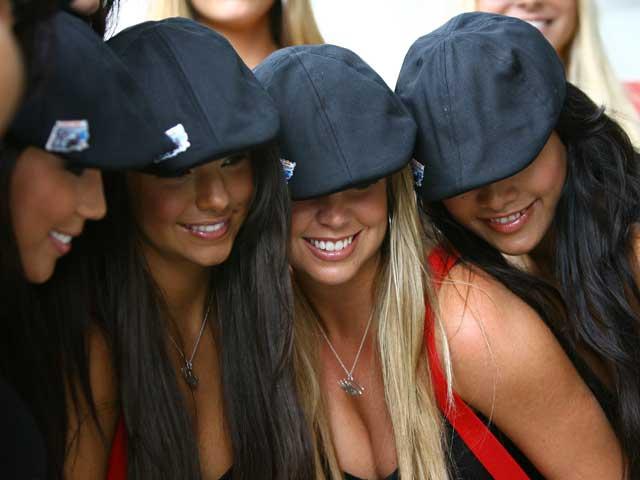 Las chicas del Gran Premio de Indianapolis 1609-g10