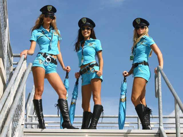 Las chicas del Gran Premio de Indianapolis 1710
