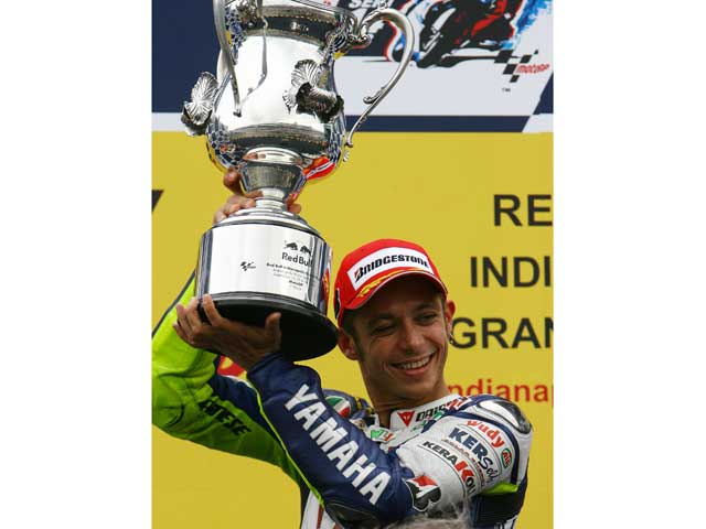 El Gran Premio de Indianapolis Mg210