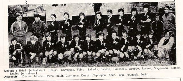 Les reconnaissez-vous ? ... les équipes cadets du Boucau-Stade Cadets12