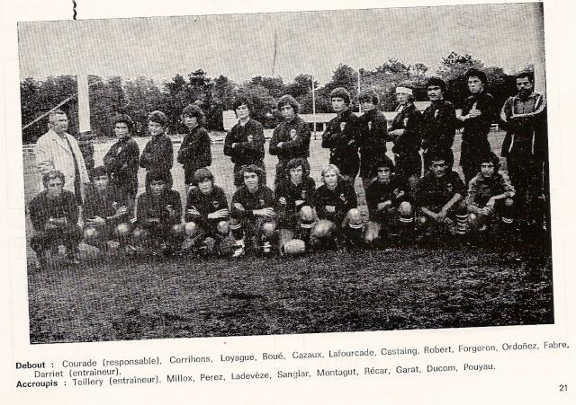 Les reconnaissez-vous ? ... les équipes cadets du Boucau-Stade Cadets13