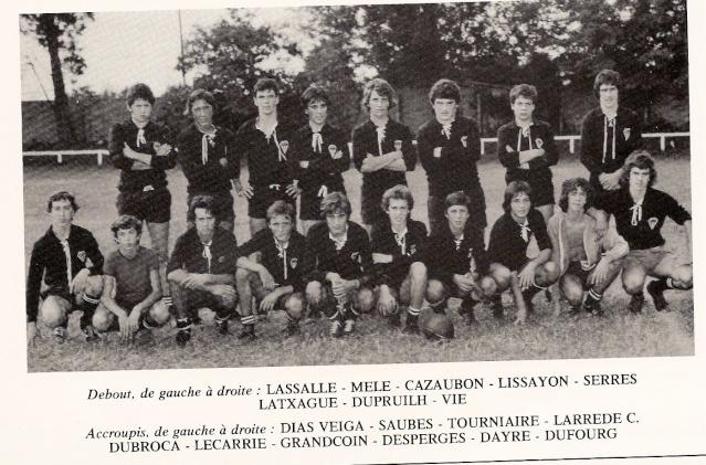 Les reconnaissez-vous ? ... les équipes cadets du Boucau-Stade Cadets15