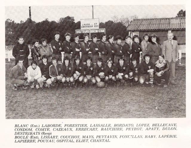 Les reconnaissez-vous ? ... les équipes cadets du Boucau-Stade Cadets18