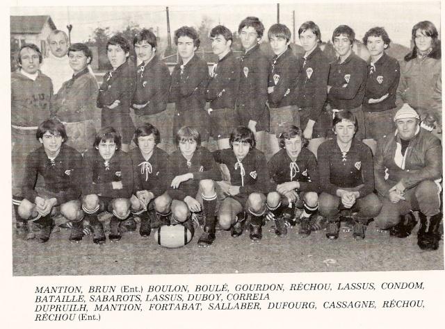Les reconnaissez-vous ? ... les équipes cadets du Boucau-Stade Cadets21