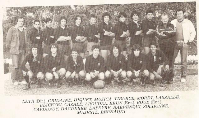 Les reconnaissez-vous ? ... les équipes cadets du Boucau-Stade Cadets24
