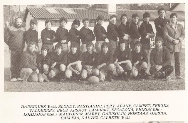 Les reconnaissez-vous ? ... les équipes cadets du Boucau-Stade Cadets26