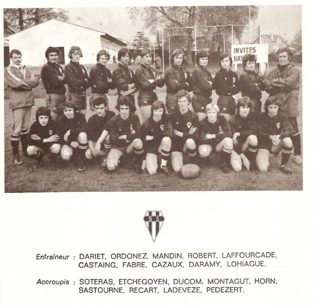 Les reconnaissez-vous ? ... les équipes cadets du Boucau-Stade Cadets32